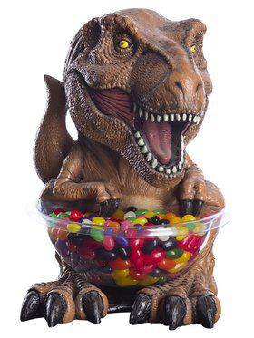 T-Rex Jurassic World Small Candy Bowl and Holder