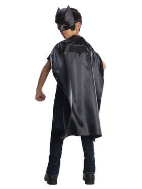 Cape and 2018 Halloween Masks Batman Justice League Set