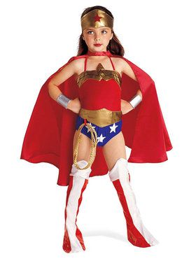 Wonder Woman DC Comics Justice League Costume for Kids