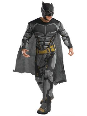 Men's Justice League Deluxe Tactical Batman Costume