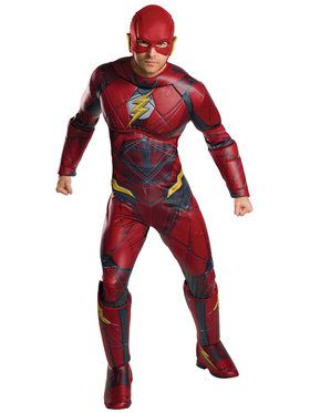 Justice League Adult Flash Deluxe Costume