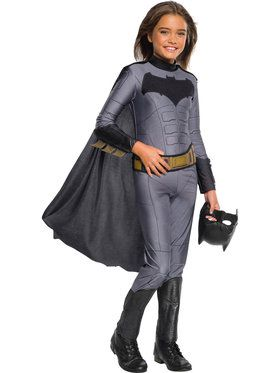 Girl's Justice League Batman Jumpsuit