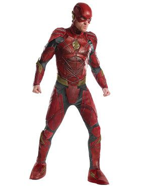 Justice League Mens Grand Heritage Flash Costume