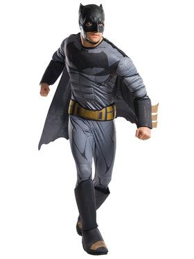 Justice League Movie Adult Batman Deluxe Costume
