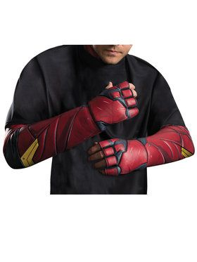 Justice League Movie - Flash Gloves - Adult