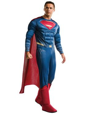 Justice League Movie Adult Deluxe Superman Costume