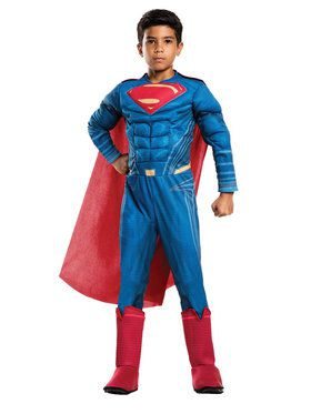 Justice League Movie - Child Superman Deluxe Costume