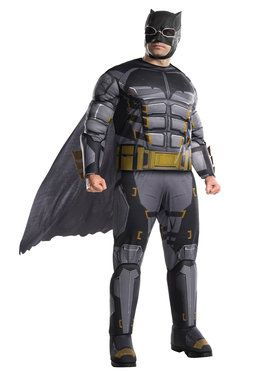 Justice League Movie Adult Tactical Batman Costume