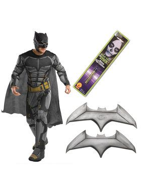 Justice League Movie - Tactical Batman Men's Deluxe Costume Kit