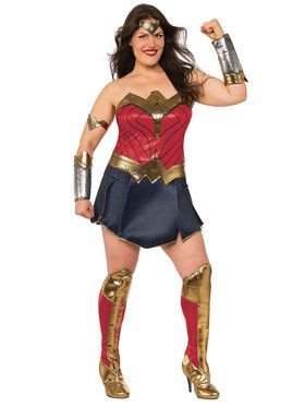 Justice League Movie Wonder Woman Adult Plus Costume