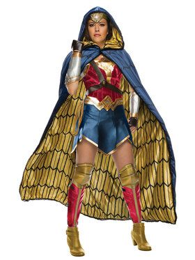 Justice League Womens Grand Heritage Wonder Woman Costume