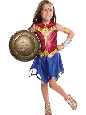 "Justice League Wonder Woman 12"" Battle Shield Costume Accessory for Kids"