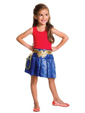 Wonder Woman Justice League Pleated Skirt