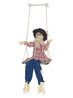 Kicking Scarecrow on Swing