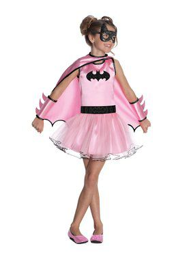 Kids Batgirl Tutu Child Costume