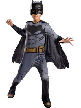 Kids Batman Justice League Child Costume