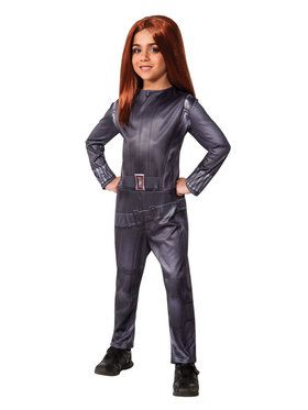 Captain America Winter Soldier Girls Black Widow Costume