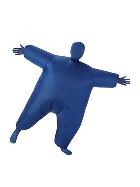 Kids Blue Inflatable Costume