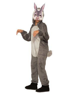 Bunny Jumpsuit with 2018 Halloween Masks Costume for Kids