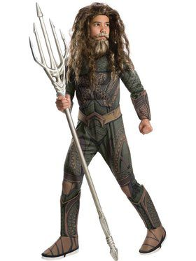 Kids Deluxe Aquaman Child Costume