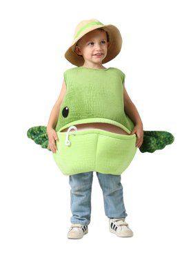 Kid's Feed Me Bass Fish Costume