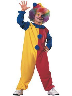 Kids Fuller Cut Clown Child Costume
