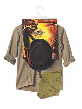 Kids Indiana Jones Costume Kit