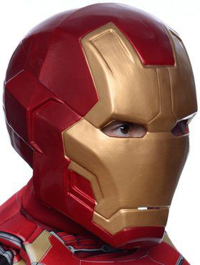 "Avengers 2 - Age of Ultron: Boys ""Mark 43"" Iron Man 2 Piece Mask"