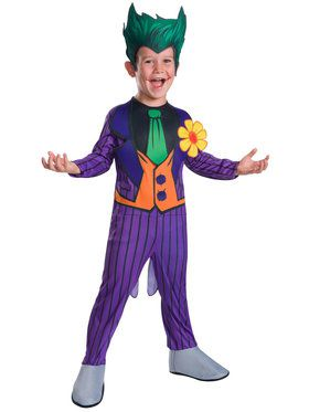 Joker DC Kid's Costume