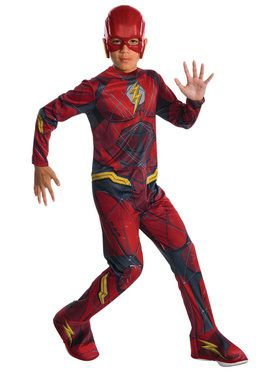 Justice League Flash Costume For Children