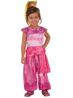 Shimmer and Shine Deluxe Toddler Leah Costume