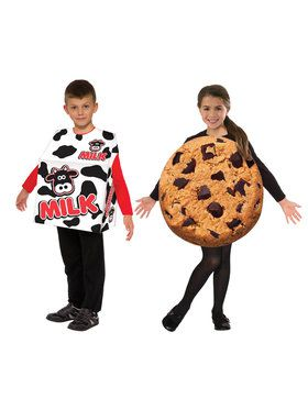 Kids Milk and Cookies Costume Set  sc 1 st  BuyCostumes.com & Food and Drink Costumes - Adults and Kids Halloween Costumes ...