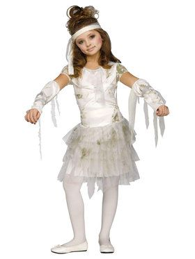 Kids Mummy Girl Costume