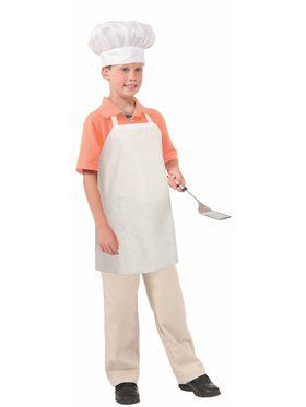Kids Paper Chef Apron