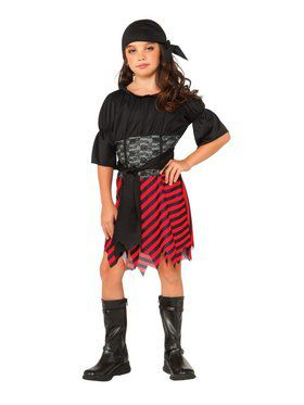 Kids Pirate Girl's Costume