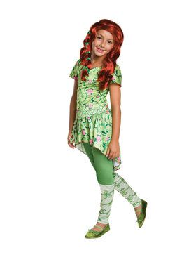 Poison Ivy Costume For Girls