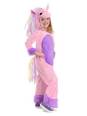 Child Rainbow Pony Costume