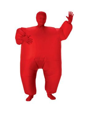 Kids Red Inflatable Costume