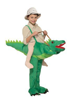 Ride a Alligator Costume for Kids