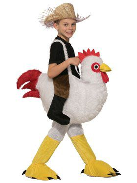 Kids Ride-A-Chicken Costume