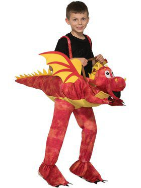 Ride a Dragon Costume for Kids
