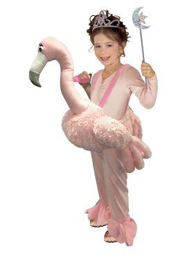 Ride On Flamingo Kids Costume