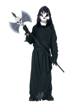 Kids Scary Skeleton Child Costume