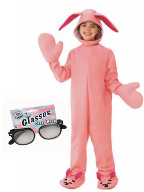 Kids Story Bunny Jumper with Glasses
