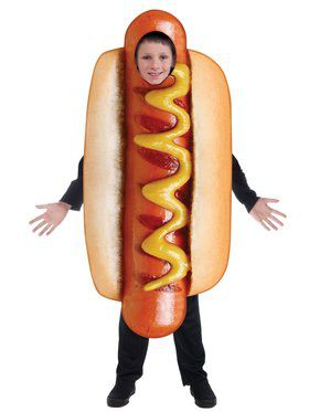 Sublimation Kid's Hot Dog Costume