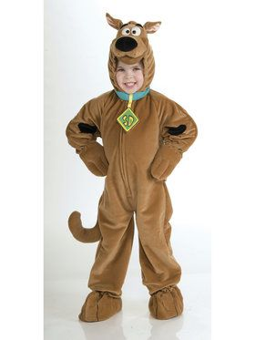 Super Deluxe Scooby Doo - Kids Costume