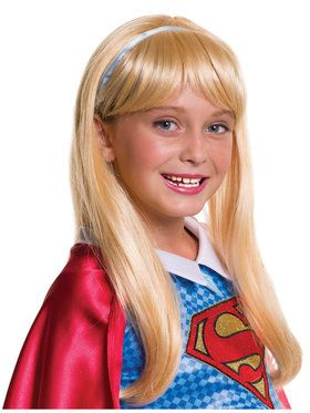 Kids Supergirl Wig