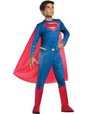 Kids Superman Justice League Child Costume