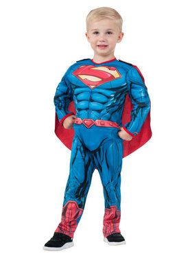 Kids Superman Muscle Chest Costume Toddler