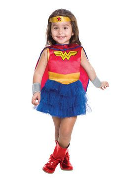 Kids Wonder Woman Tutu Dress Toddler